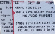 vamps ticket